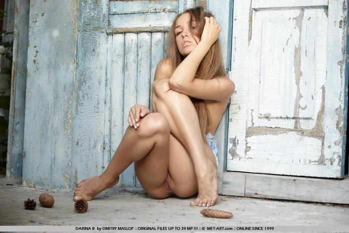 Эротические фотографии русой девушки
